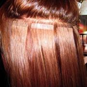 Наращивание волос Hair Talk, ленточный способ фото