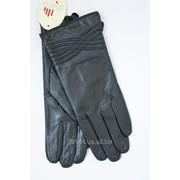 Женские перчатки из натуральной кожи фото