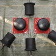 Буфер резиновый крановый БР-125 .Фланец к буферу резиновому БР-125 фото