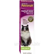 Паста для кошек со вкусом солода SENTRY Petromalt Hairball Relief, ВЫВЕДЕНИЕ ШЕРСТИ, 0.056 кг фото