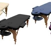 Складной массажный стол MIA производитель ART of Choice. Деревянный переносной массажный стол. Косметологическая кушетка раскладная MIA. фото