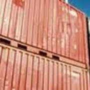 Услуги железнодорожных перевозок контейнерных грузов. Консультации по финансовой гарантии перевозимых грузов фото