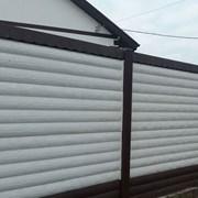 Глянцевые бетонные заборы с установкой в Запорожье фото