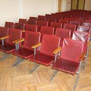 Кресла секционные для актового зала фото