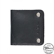 Кожаный кошелек BERN BLACK фото