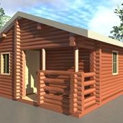 Дома и сооружения деревянные сборные фото