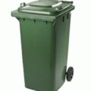 Баки пластиковые для мусора 240литров продажа фото