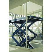 Лифты гидравлические и грузовые платформы фото