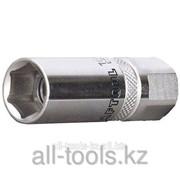 Торцовая головка Kraftool Industrie Qualitat , Cr-V, Flank , хромосатинированная, 1/2, 16мм Код:27812-16_z01 фото