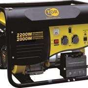 Генератор бензиновый TOR TR2500E 2,0кВт 220В 15л с кнопкой запуска фото
