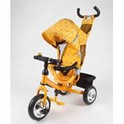 Велосипед AZIMUT Trike фирмы Baby Club желтый фото