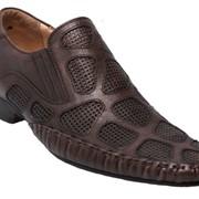 Туфли коричневые фото