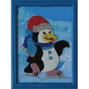 Схемы для вышивания бисером Пингвин фото