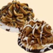 Печенье сахарное в глазури класса премиум фото