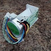 Воздушная заслонка холодильника Bosch в сборе с мотором фото