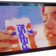 Светодиодное полноцветное видеотабло, фото