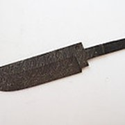 Клинок Охотник дамаск с никелем фото