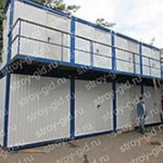 Модульное сборно-разборное здание фото