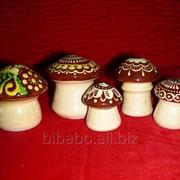 Керамічні гриби фото
