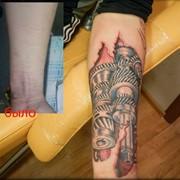 Татуировки на шрамах фото
