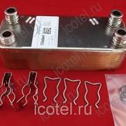 Теплообменник Гвс Vaillant Max Pro   Plus, VUW 2, aquaPLUS   aquaBLOCK 20 пластин артикул 065153 фото