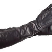 Перчатки женские удлиненные, модель 282 фото