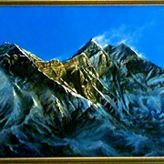 Дыхание гор,40х50,2008 г, 300 $ фото