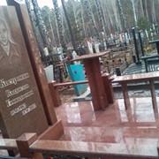 Изготовление гранитных памятников и продажа готовых надгробий фото