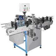 Этикетировочный автомат на полипропиленовую этикетку, ЭТМА-212, до 2000 бут/час фото