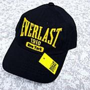 Кепка Everlast New York чёрная с желтым фото