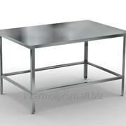 Металлический стол фото
