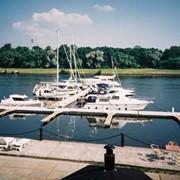 Пристани и причалы для катеров и яхт. фото