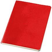 Блокнот А5 Gallery, красный фото