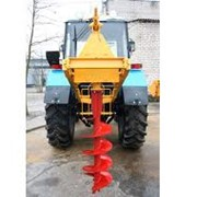 Ямобур НБУ-1300 в сборе с трактором МТЗ-82,1 (892, 920) фото