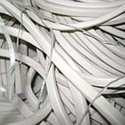 Шнур силиконовый (прозрачный) 8 мм х 12 мм фото