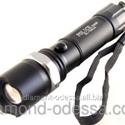 Металлический светодиодный фонарь с оптическим зумом 608 фото