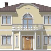 Проектирование фасадов и интерьеров с применением архитектурного декора. 3D визуализация фото
