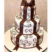 Торт свадебный №0086 код товара: 1-0086 фото