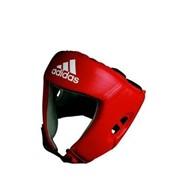 Шлемы боксерские AIBA защитный шлем для бокса красный фото