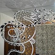 Роспись стеклянных изделий и зеркал фото
