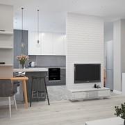 Дизайн интерьера квартиры 50 м² фото