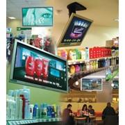 Размещение видеорекламы в магазинах фото