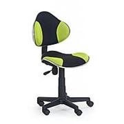 Кресло компьютерное Halmar FLASH (черно-зеленый) фото