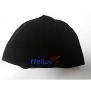 Шапка Legion 1-сл флис,черный XL, Helios фото
