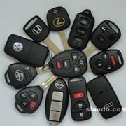 Авто-ключи с чипом фото