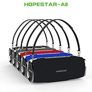 Портативная стерео колонка Hopestar A6 (Bluetooth, MP3, AUX, Mic) (Черный) фото