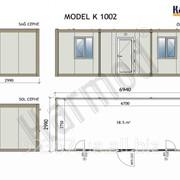 Блок контейнер K 1002 фото