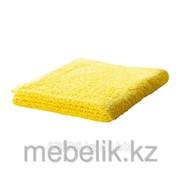 Банное полотенце ярко-желтый ГЭРЕН фото