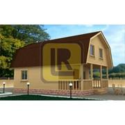 Дом из бруса Проект №14 (6х8) фото