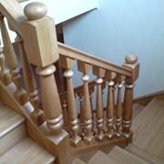 Лестницы деревянные, изделия из дерева фото